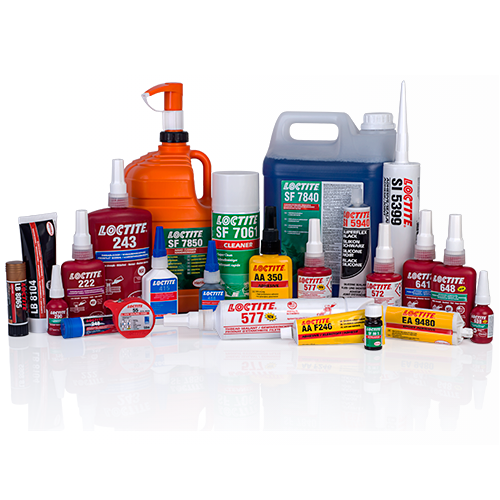 ADHESIVES, SEALANTS, PAINTS AND CLEANING RANGES