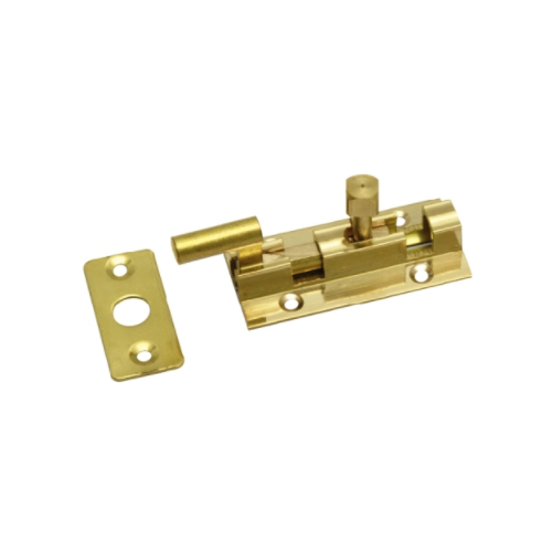 MACKIE SOLID BRASS BARREL BOLTS - NECKED