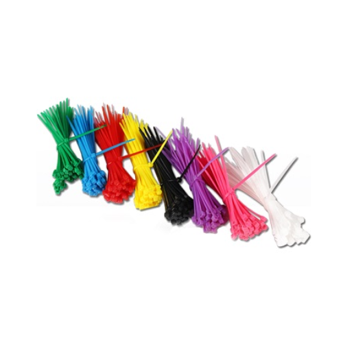 MTS MULTI COLOURED CABLE TIE COMBO 200 PIECE