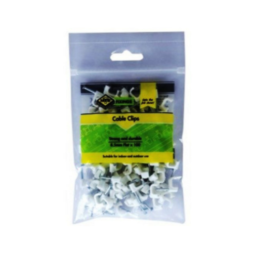 MTS FLAT CABLE CLIPS 100 PACK