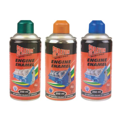 ENGINE ENAMEL SPRAY CANS 250ML