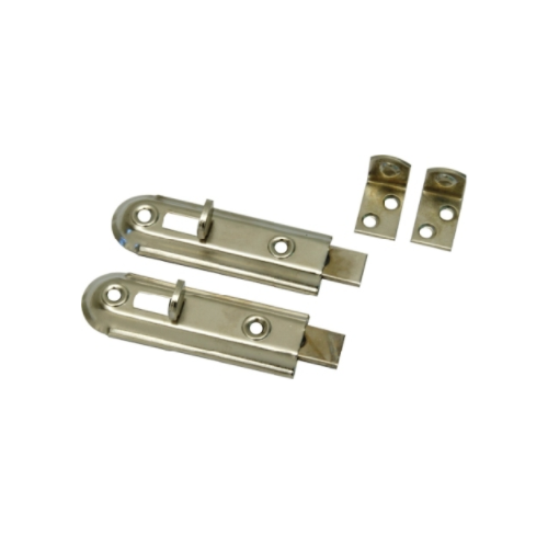 MACKIE BOLT AND STOP - CHROME PLATED