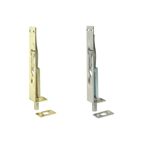 MACKIE LEVER FLUSH BOLTS - STAINLESS STEEL