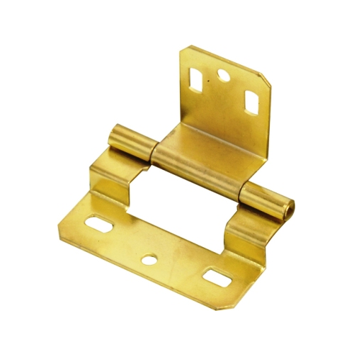 MACKIE BRASS PLATED EASY FIT HINGES