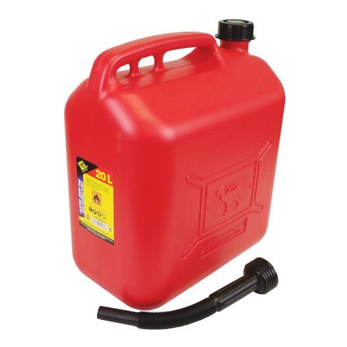MTS 20 LITER PLASTIC JERRY CAN WITH SPOUT