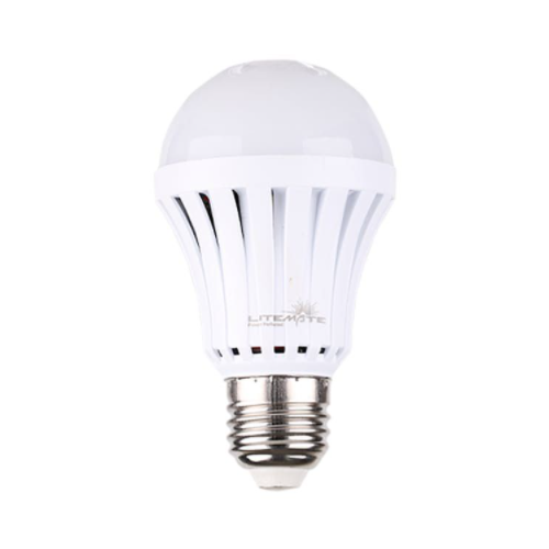 LITEMATE RECHARGEABLE SCREW IN LED LIGHT BULB - 5W A60 E27