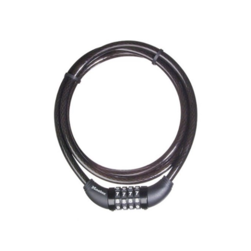 MASTER LOCK CABLE COMBINATION BICYCLE LOCK 300034