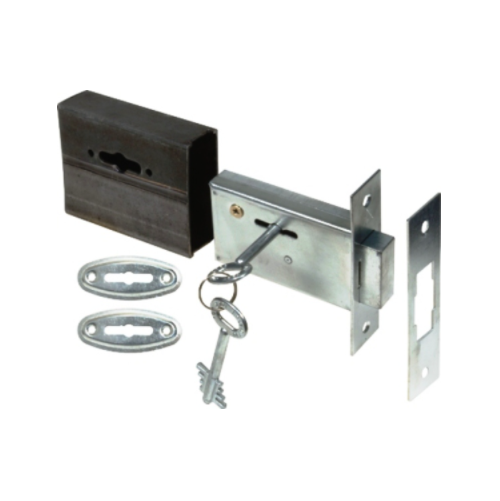 MACKIE SECURITY GATE LOCK WITH OPEN BOX