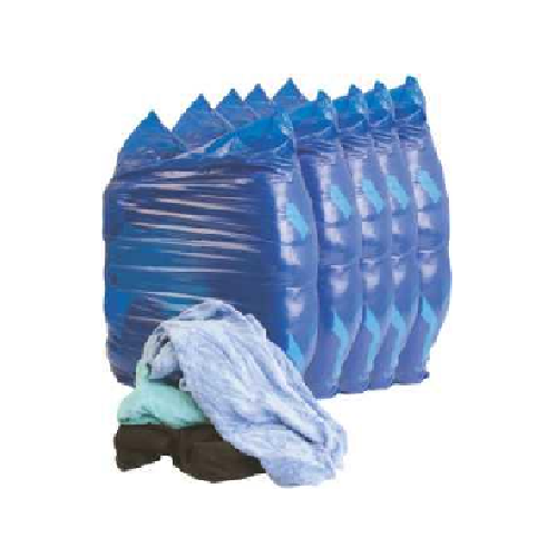 COLOURED WASTE RAGS | CLEANING RAGS