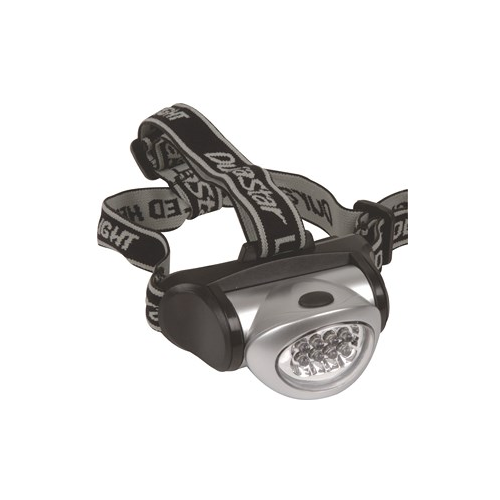 MOTO-QUIP HEADLIGHT TOUCH WITH STRAP 8 LED