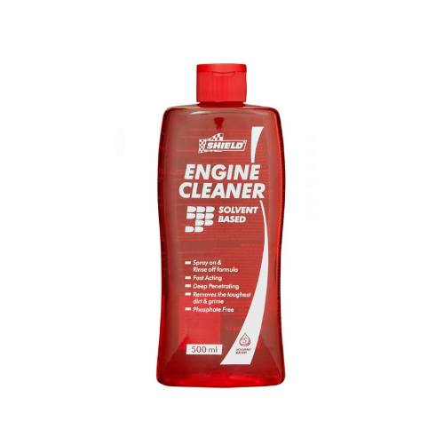 SHIELD ENGINE CLEANER SOLVENT 500ML SH610