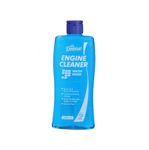 SHIELD ENGINE CLEANER WATER BASED 500ML SH22