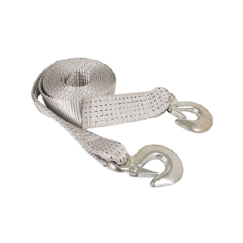 MOTO-QUIP TOWING ROPE STRAP WITH STEEL HOOKS 5 TON