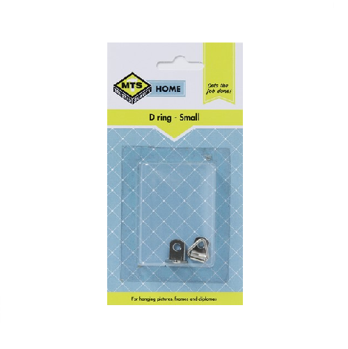 MTS HOME SMALL STEEL `D` RING