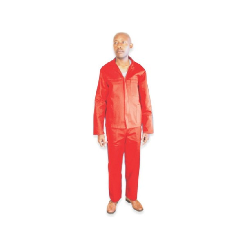RED 2 PIECE OVERALL