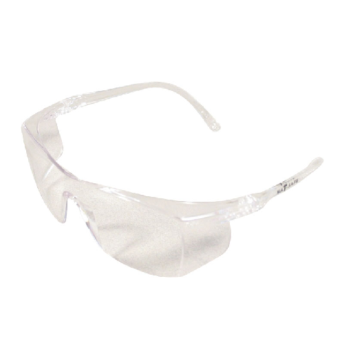 MATSAFE WRAP AROUND CLEAR SAFETY GLASSES