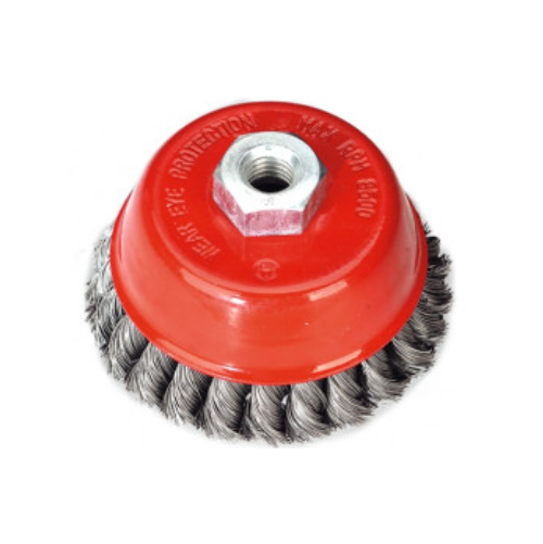 WERNER CARBON STEEL KNOTTED WIRE CUP BRUSH KCR684142