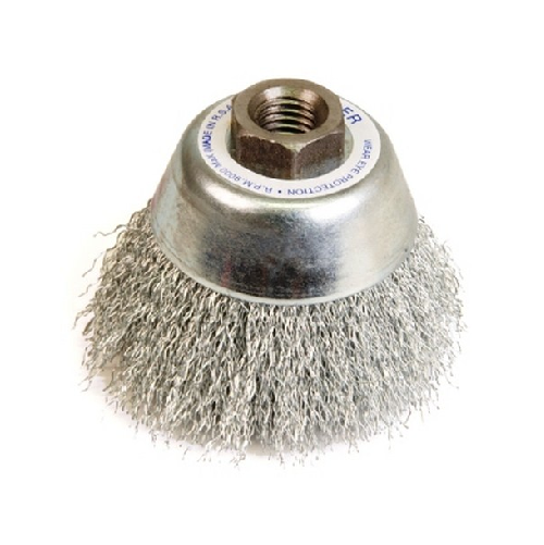 WERNER CARBON STEEL CRIMPED WIRE CUP BRUSH C
