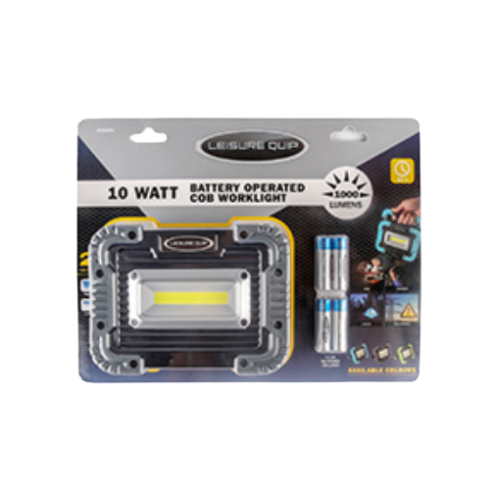 PORTABLE WORKLIGHT, BATTERY OPERATED 600 LUMENS